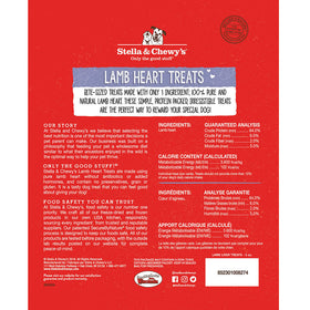 Stella & Chewy's -  Lamb Heart Freeze-Dried Raw (Dog Treats)