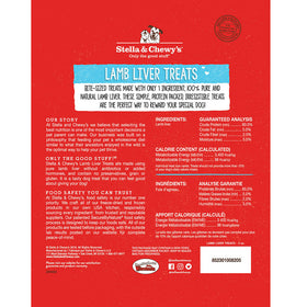 Stella & Chewy's - Lamb Liver Freeze-Dried Raw (Dog Treats)