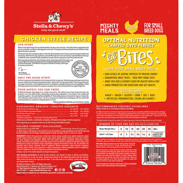 Stella & Chewy's -  Lil' Bites Chicken Little Recipe Small Breed Freeze-Dried Raw Dog Food