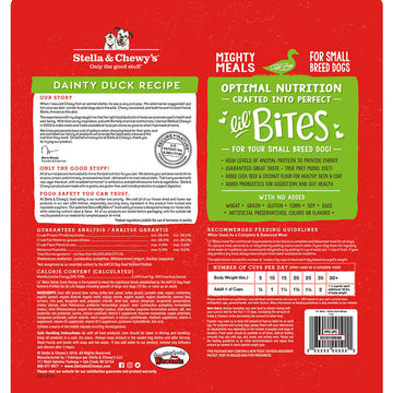 Stella & Chewy's -  Lil' Bites Dainty Duck Recipe Small Breed Freeze-Dried Raw Dog Food
