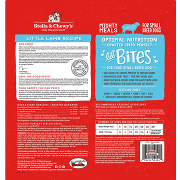 Stella & Chewy's -  Lil' Bites Little Lamb Recipe Small Breed Freeze-Dried Raw Dog Food