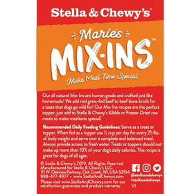Stella & Chewy's - Marie's Mix-ins Beef & Pumpkin Recipe (Wet Dog Food)