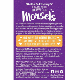 Stella & Chewy's - Marvelous Cage-Free Turkey Morsels (Wet Cat Food)
