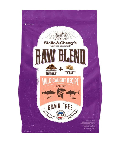 Stella & Chewy's - Raw Blend Wild Caught Recipe (Dry Cat Food)