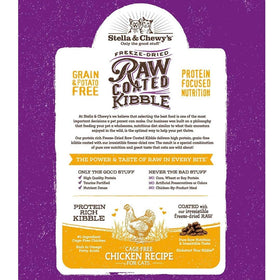 Stella & Chewy's - Raw Coated Kibble Cage-Free Chicken Recipe (Dry Cat Food)