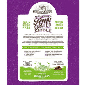 Stella & Chewy's - Raw Coated Kibble Cage-Free Duck Recipe (Dry Cat Food)