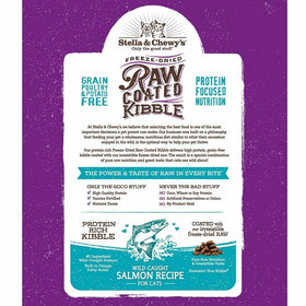Stella & Chewy's - Raw Coated Kibble Wild-Caught Salmon Recipe (Dry Cat Food)