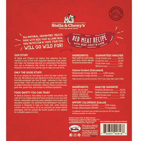 Stella & Chewy's -  Red Meat Wild Weenies Freeze-Dried Raw (Dog Treats)