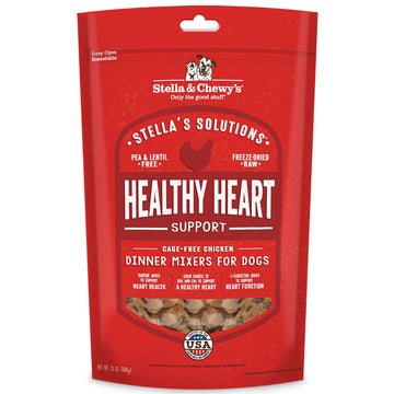 Stella & Chewy's -  Stella's Solutions Healthy Heart Support Chicken Freeze-Dried Raw Dog Food  (Adult)