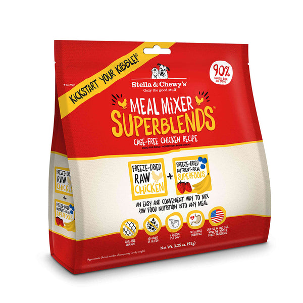 Stella & Chewy's SuperBlends Cage-Free Chicken Recipe Meal