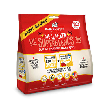 Stella & Chewy's - SuperBlends Lil' Cage-Free Chicken Recipe Meal Mixers (Small Breed)