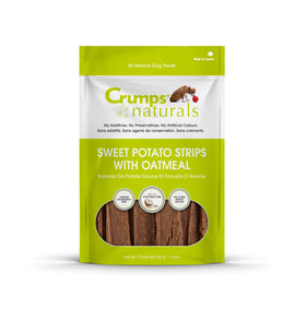 Crumps' Naturals - Sweet Potato Strips with Oatmeal Treat