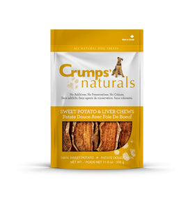 Crumps' Naturals - Sweet Potato & Liver Chews