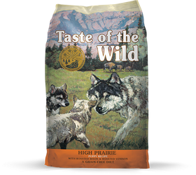 Taste of the Wild - High Prairie Puppy with Roasted Bison & Venison (Dry Grain-Free Dog Food)