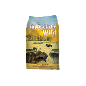 Taste of the Wild - High Prairie with Roasted Bison & Roasted Venison (Dry Grain-Free Dog Food)