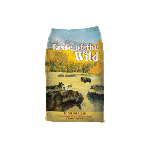 Taste of the Wild - High Prairie with Roasted Bison & Roasted Venison (Dry Grain-Free Dog Food) - ARMOR THE POOCH™