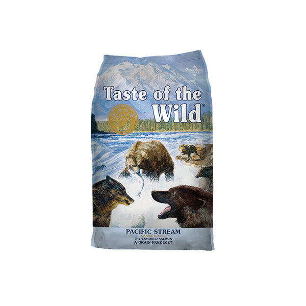 Taste of the Wild - Pacific Stream with Smoked Salmon (Dry Grain-Free Dog Food) - ARMOR THE POOCH