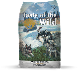Taste of the Wild - Pacific Stream Puppy with Smoked Salmon (Dry Grain-Free Dog Food)