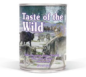 Taste of the Wild - Sierra Mountain Canned Dog Food
