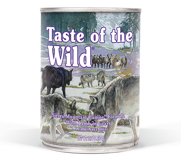 Taste of the Wild - Sierra Mountain Canned Dog Food - ARMOR THE POOCH™