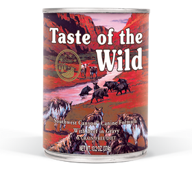 Taste of the Wild - Southwest Canyon Canned Dog Food