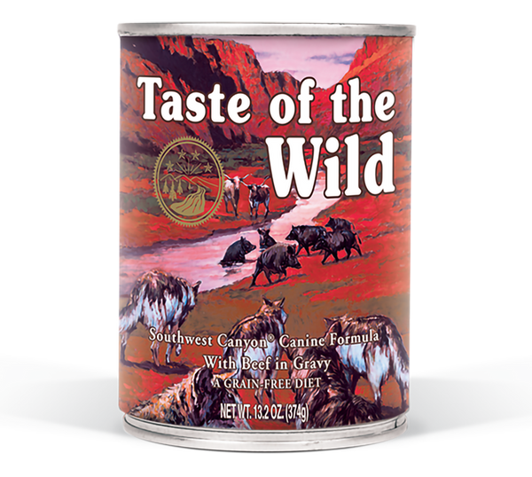 Taste of the Wild - Southwest Canyon Canned Dog Food - ARMOR THE POOCH