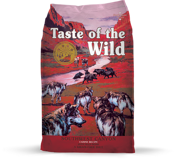 Taste of the Wild - Southwest Canyon with Wild Boar (Dry Grain-Free Dog Food) - ARMOR THE POOCH