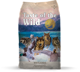 Taste of the Wild - Wetland with Roasted Fowl (Dry Grain-Free Dog Food)