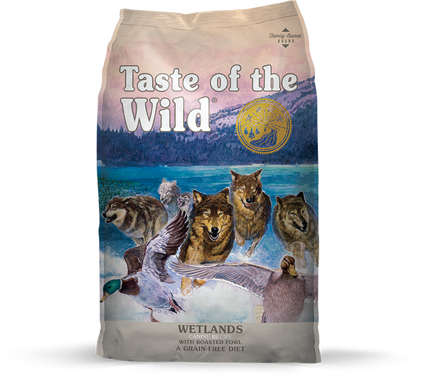 Taste of the Wild - Wetland with Roasted Fowl (Dry Grain-Free Dog Food) - ARMOR THE POOCH™