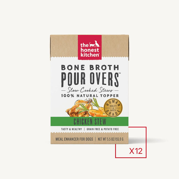 The Honest Kitchen - Bone Broth Pour Overs - Chicken (Wet Dog Food)
