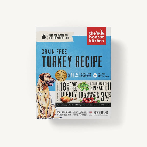 The Honest Kitchen - Dehydrated - Grain Free Turkey Recipe (Dog Food)