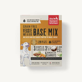 The Honest Kitchen - Dehydrated - Grain Free Veggie, Nut & Seed Based Mix (Dog Food)