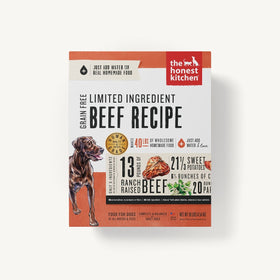 The Honest Kitchen - Dehydrated - Limited Ingredient Beef Recipe (Dog Food)