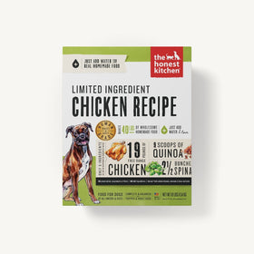 The Honest Kitchen - Dehydrated - Limited Ingredient Chicken Recipe (Dog Food)
