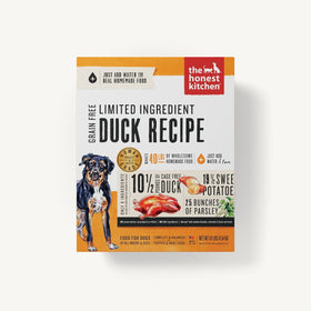 The Honest Kitchen - Dehydrated - Limited Ingredient Duck Recipe (Dog Food)