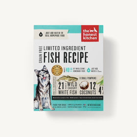 The Honest Kitchen - Dehydrated - Limited Ingredient Fish Recipe (Dog Food)