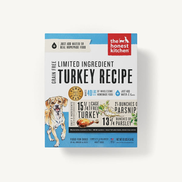 The Honest Kitchen - Dehydrated - Limited Ingredient Turkey Recipe (Dog Food)