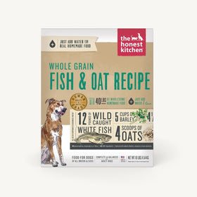 The Honest Kitchen - Dehydrated - Whole Grain Fist & Oat Recipe (Dog Food)