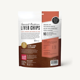 The Honest Kitchen - Gourmet BBQ Liver Chips - Beef Liver & Cheddar Treats