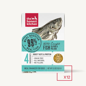 The Honest Kitchen - Meal Booster - 99% Salmon & Pollock (Wet Dog Food)