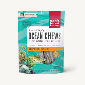 The Honest Kitchen - Ocean Chews - Crispy Cod Fish Skins