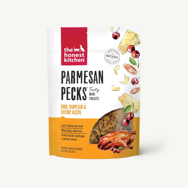 The Honest Kitchen - Parmesan Pecks - Duck, Parmesan & Cherry Treats