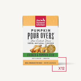 The Honest Kitchen - Pumpkin Pour Overs - Chicken (Wet Dog Food)
