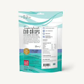 The Honest Kitchen - Superfood Cod Crisps - Cod & Blueberry
