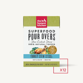 The Honest Kitchen - Superfood Pour Overs - Turkey (Wet Dog Food)