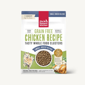 The Honest Kitchen - Whole Food Clusters For Small Breeds - Grain Free Chicken (Dry Dog Food)