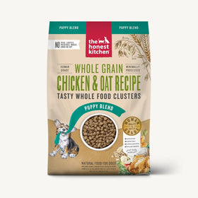 The Honest Kitchen - Whole Food Clusters for Puppies - Whole Grain Chicken Recipe (Dry Dog Food)