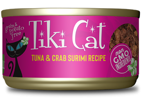 Tiki Cat - Lanai Grill - Tuna & Crab Surimi for Cats