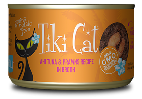 Tiki Cat - Manana Grill - Ahi Tuna & Prawns in Broth for Cats