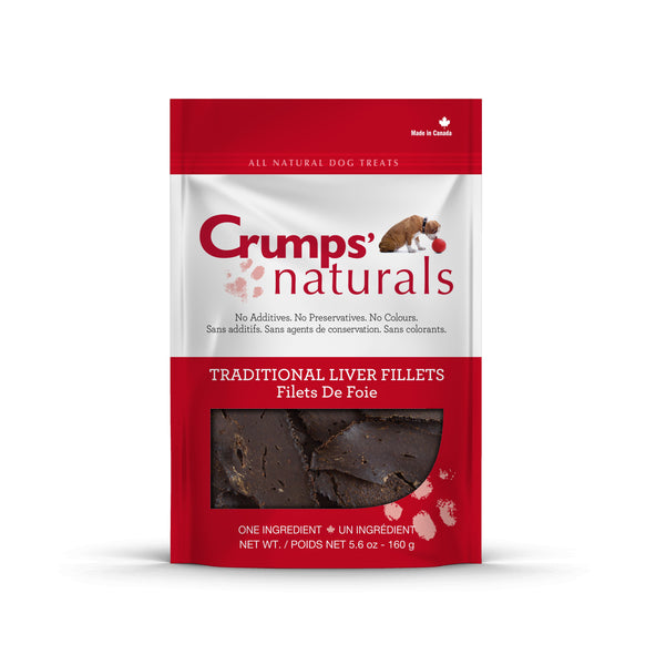 Crumps' Naturals - Traditional Liver Fillets Treat - ARMOR THE POOCH